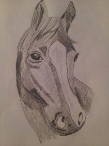 Horse head by Jade's Gallery