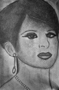 Barbra Streisand Portrait by Jade's Gallery