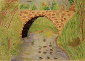 Country Bridge by Jade's Gallery