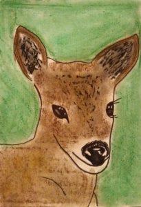 Baby deer by Jade's Gallery
