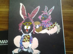 funny bunnies by les q
