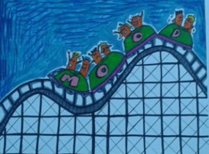 Never ending Roller coaster by Pip M
