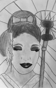 Oriental lady by Jade's Gallery