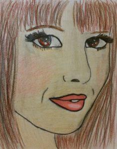 Cheryl Cole Portrait by Jade's Gallery