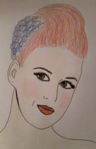 Katy Perry Portrait by Jade's Gallery