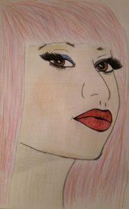 Nicki Minaj portrait by Jade's Gallery