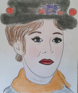 Mary Poppins portrait by Jade's Gallery