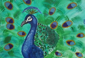 The Peacock by Jade's Gallery