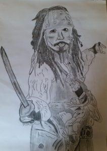 Captian Jack Sparrow by Jade's Gallery
