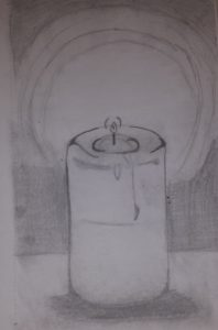 Candle by Jade's Gallery