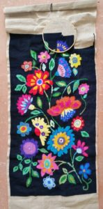 Flower Tapestry by Butterfly