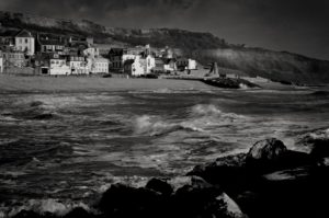 Lyme Regis Seascape by Jonathan North