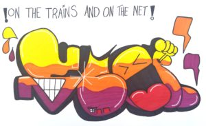 On the Trains and on the Net by Jonathan Banks