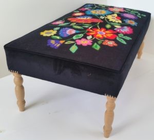 Footstool 1 by Butterfly