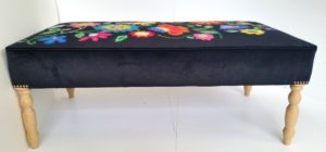 Footstool 2 by Butterfly
