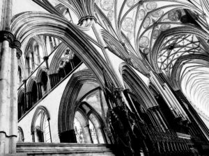 Salisbury Cathedral by Lisa-Fay