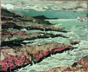 red rocks and yachts by Irina Holmes