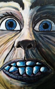 Self Portrait I by Paul  Brown