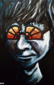 Self Portrait III by Paul  Brown