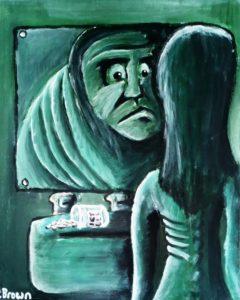 Broken Mirror by Paul  Brown