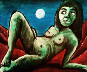Dead Girl I by Paul  Brown
