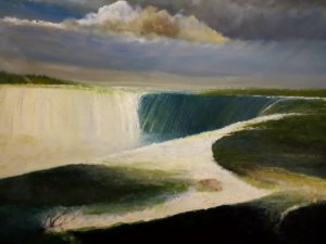 the power of water by mark Noble art