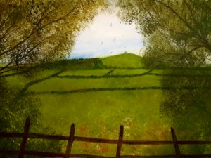 tor in summer by mark Noble art