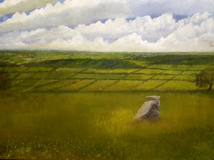 somerset view by mark Noble art