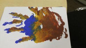 Artist's Hand #1 by David Manley