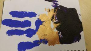 Artist's Hand #3 by David Manley