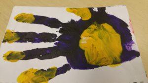 Artist's Hand #4 by David Manley