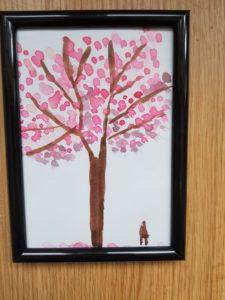 Cherry tree by Lisa Gyori