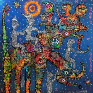 Egoic rodeo by greg bromley