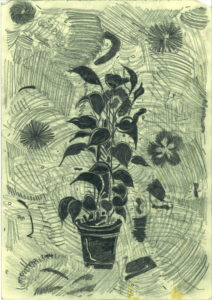 Black Plant by Roger Crichlow