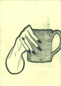 Cup of tea. by Roger Crichlow