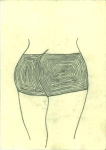 Striped Backside. by Roger Crichlow