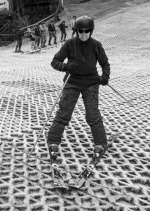 Downhill Skier by Mark Pile