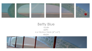 Betty blue by Nathalie Lomas