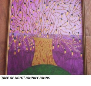 Tree of Light by Johnny  Johns