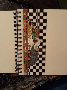 New Rymans drawing book by Andy Harding