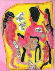 Adam and Eve by Elzbieta Harbord