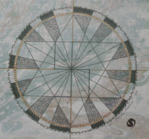 Four Points Mandala by sheilam.artwork