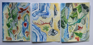 Rock Pools (image should be vertical) by Romilly Jardine