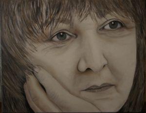 Self Portrait by Jacqui Cavalier