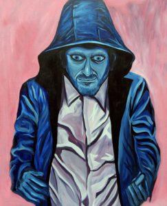 Big Blue Riding Hood by Anthony Milner