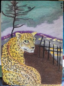 Leopard by The tube