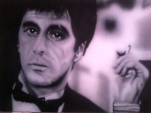 al pacino (scarface) by diehard