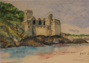Dartmouth Castle by Matt Charnaud