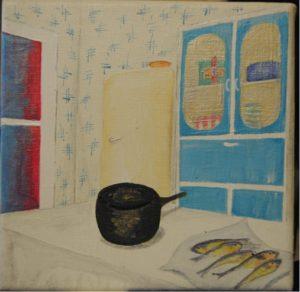 nan's kitchen by Stephen Mundy