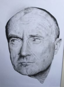 Phil Collins by Aardvark